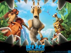 Wallpaper L'era glaciale 3: l'alba dei dinosauri