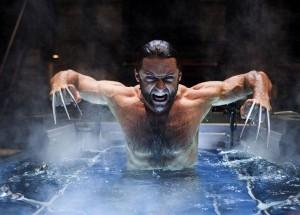 Wolverine bagnato e arrabbiato
