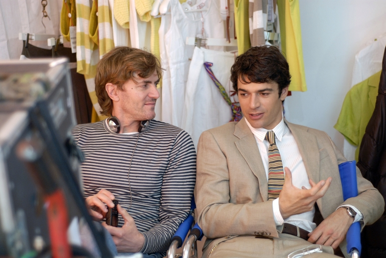 Luca Argentero con il regista del film, Umberto Carteni