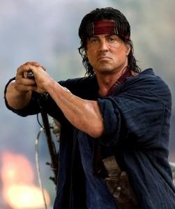 Rambo contro Rourke