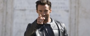 Hugh Jackman porta Wolverine a Piazza di Spagna