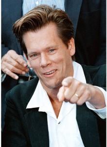 Rubato il telefono di Kevin Bacon