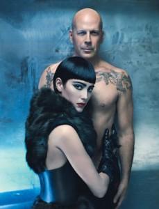 Bruce Willis e le foto hot con sua moglie