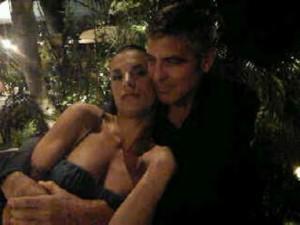 Clooney e la Canalis insieme!