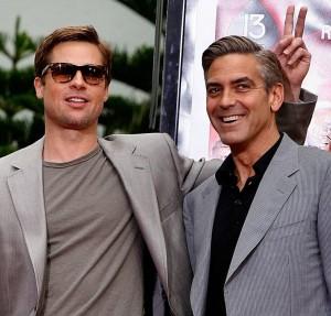"Brad Pitt: ""Macché velina, George è gay"""