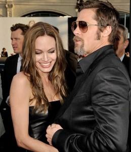 Katja tra Brad e Angelina