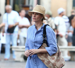 Julia Roberts a Roma