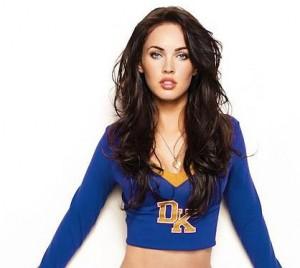 Megan Fox sexy cheerleader