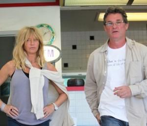 Kurt e Goldie come in un film!