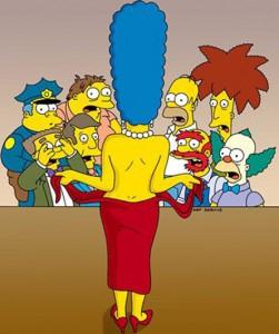 Marge Simpson nuda su Playboy