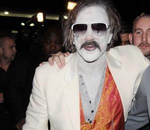 Mickey Rourke festeggia Halloween