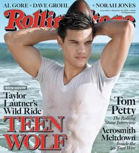 Taylor Lautner sexy e bagnato