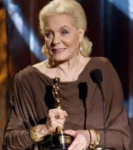 Oscar alla carriera per Lauren Bacall