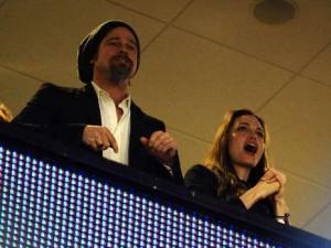 Brad e Angelina: felici e coccolosi