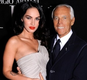 Megan Fox per re Giorgio