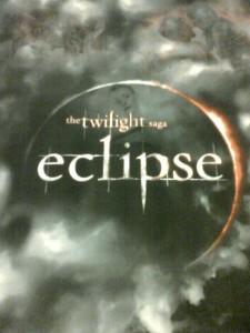 Il primo poster di Eclipse