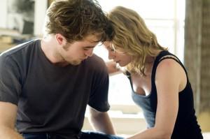Robert Pattinson in versione romantica