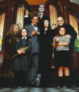 Tim Burton e la Famiglia Addams