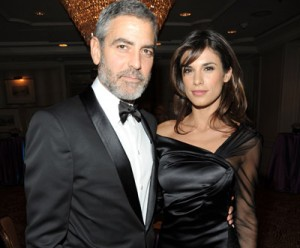 Clooney-Canalis: crisi per i troppi festini?