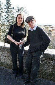 Woody Allen a Roma