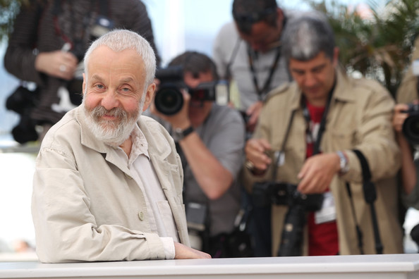 Il regista Mike Leigh.