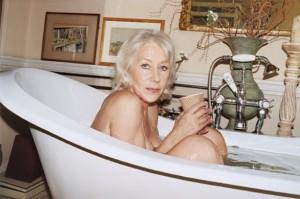 Helen Mirren senza veli