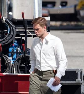 Robert Pattinson concentratissimo