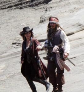 Penélope e Johnny pirati
