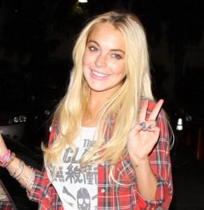 Lindsay Lohan è fuori