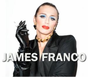 James Franco trans per una cover
