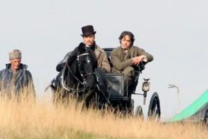 Sul set di Sherlock Holmes 2