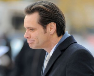Jim Carrey torna sul set