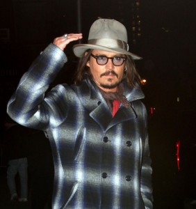 Johnny Depp al Letterman