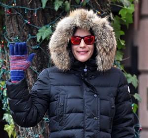 Liv Tyler: brrr, che freddo!