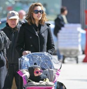 Jessica Alba: che mamma!