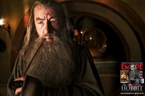 Bilbo e Gandalf in anteprima