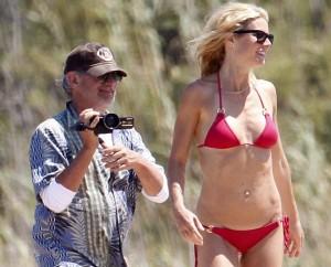 Gwyneth e figli in Sardegna con zio Steven