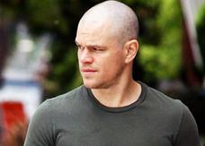Cambio di look per Matt Damon