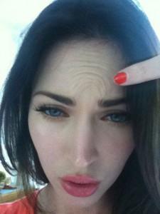 Niente botox per Megan Fox