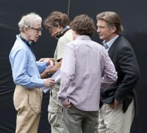 Sul set di Allen arrivano Baldwin ed Eisenberg