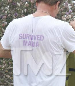 La T-shirt provocatoria di Schwarzy