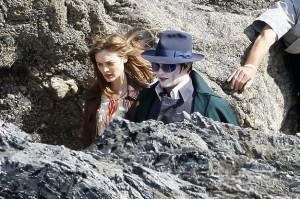 Johnny on the rocks