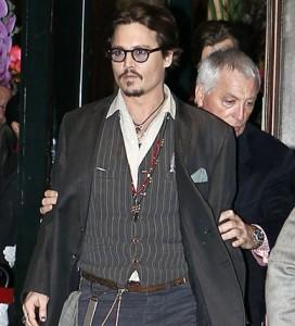 Johnny Depp a Parigi