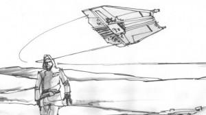 Star Wars: i bozzetti della battaglia di Hoth