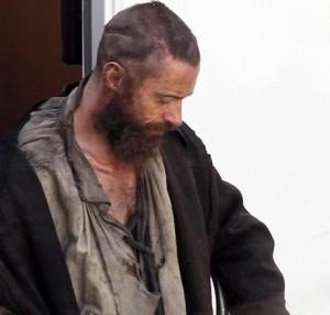 Hugh Jackman irriconoscibile in Les Misérables