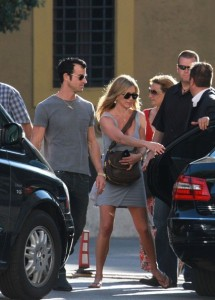 Jennifer Aniston a Roma