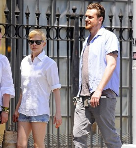 Michelle Williams e Jason Segel a New York