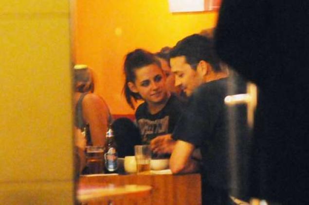 Maggio 2012: Kristen e Rupert cenano insieme a Berlino.
