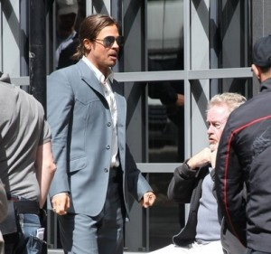Brad Pitt al lavoro in The Counselor