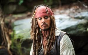 Johnny Depp pirata d'oro